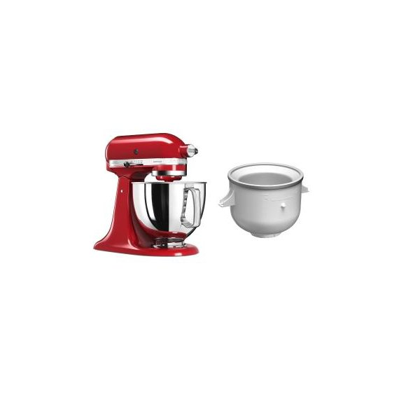 KitchenAid 5KSM125EER + 5KICA0WH z Misą do Lodów